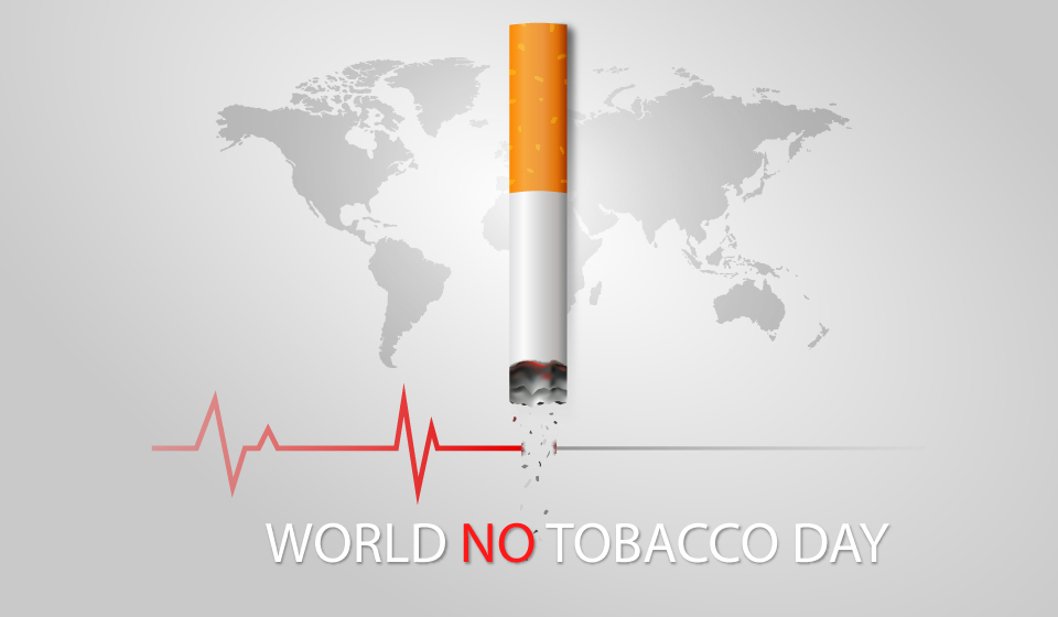 DONT LET TOBACCO TAKE YOUR BREATH AWAY
